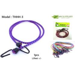 3 feet ± Multipurpose Rubber Band Bicycle / Luggage / Rope Hook / Tali Basikal
