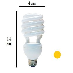 15w energy saving bulb(yellow)