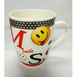 10.5*8.5cm smile cup