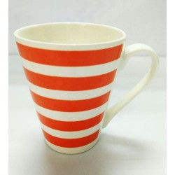 10.5*8.5cm striped cup