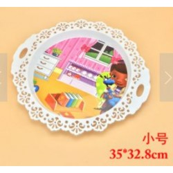 ab-808 35cm round serving tray