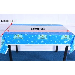party cartoon disposable table cloth