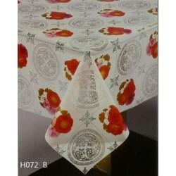 h072 plastic tablecloths