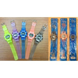 colour digital watch