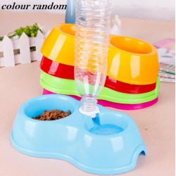 2 In 1 Pet Feeder Food And Water Bowl L24.5*W12*H6.5CM