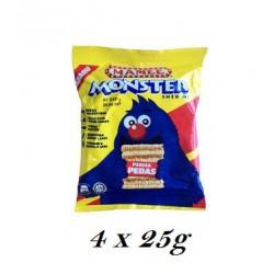 25g 4in1 Mamee Monster Snek Mi -  Hot & spicy