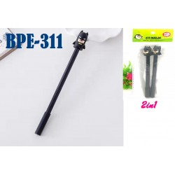2in1 Ball Gel Ink Writing Pens-Black L18cm*W1cm