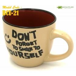 Ceramic Cup With Holder L12cm*W8.5cm*H8cm