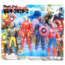 2020-2 4in1 Avengers Toys W4cm*H9.5cm