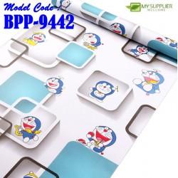 9442 square doraemon wallpaper W45cm*L10mtr