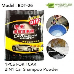 2in1 Concentrated Washing Powder Car Cleaning 5g
