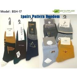 25-28cm Men Socks (Random Design)