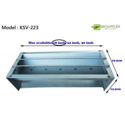 18inch Satay Stove L45xW19.5xH13.5cm +/-