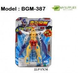 18CM Transformer robot toy