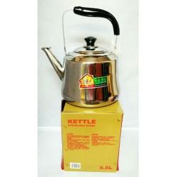 5l s/steel whistle kettle