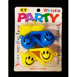 4pcs party whistle