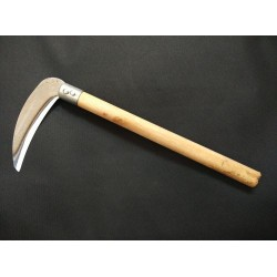 Sickle With Wood Handle L28.5cm*W13cm