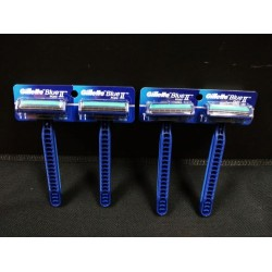 1PCS gillette blue ii razor