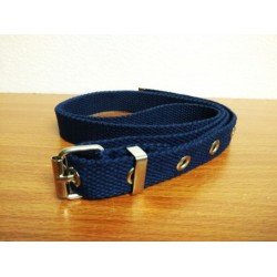 2cm army belt w/hole (blue)