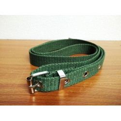 2cm army belt w/hole (green)