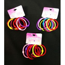 8pcs 0.6 hair bands