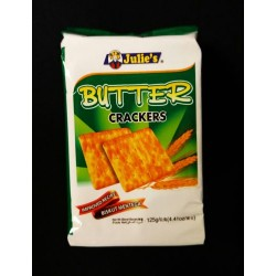 Julie's 125g butter crackers
