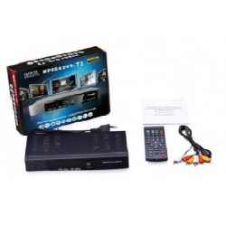 MPEG4 Digital Terrestrial Receiver Free Siaran 12 Channel
