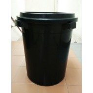 csk 4012b 12 gal.pail with cover 41*47cm