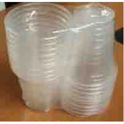 20pcs n70-a pp cup (diameter 7cm+- H8cm)