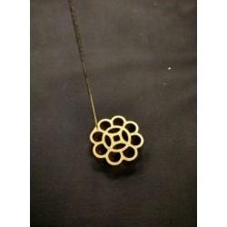 6cm no.1 brass loyang mould (l)