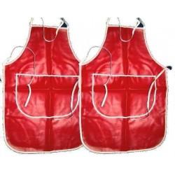 leather apron*