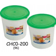 Yokafo Transparence Container W17cm*H16cm