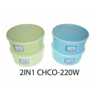 Yokafo 900ml 2pcs AB Container W14.5cm*H6.5cm