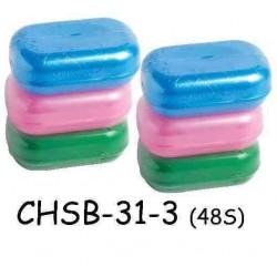 yokafo 3pcs color soap box +