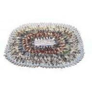 18 oval carpet L44XW30cm