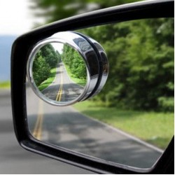2?? 2pcs car round spot mirror