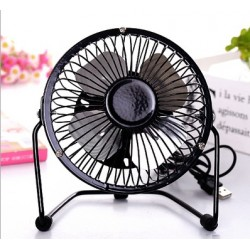 14cm usb round mini fan