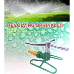 3 brass arms revolving sprinkler