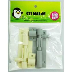 2in1 plastic door bolt*