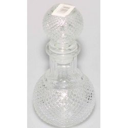 round glass container*