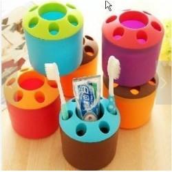 Round Toothbrush/Pencil Holder W10cm*H9.5cm