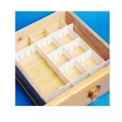 42.3X6.5X2.8CM 3in1small drawer divider-12*