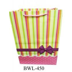 330*220*450mm big paper bag w/stripe