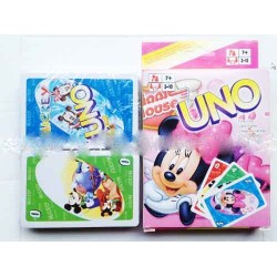 cartoon uno playing card
