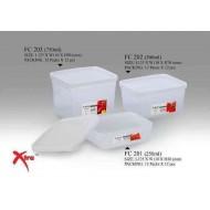 Lava FC202 Plastic Food Container 500ml L12.5*W11*H7cm