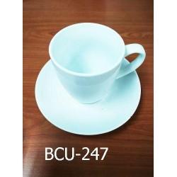 coffee cup & saucer(8.5+14.5cm)