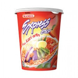 60g mamee express cup curry