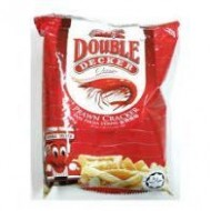 6pcs 15g  double decker mini prawn cracker