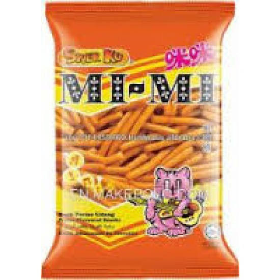 8pcs snek ku mimi prawn flv snacks