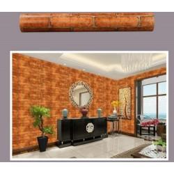 9213 45cm*10meter ± red brick wallpaper